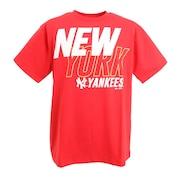 野球ウェア ネオンロゴTシャツ MM01-NY-0S03-RD