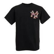 野球ウェア NYKマルチカラーTシャツ MM01-NY-0S07-BK