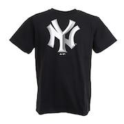 野球ウェア 3DロゴTシャツ MM01-NY-0S14-BK