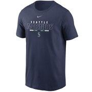 Tシャツ メンズ 半袖 シアトルマリナーズ チームネーム N19944BMVRM3S 【野球 スポーツ ウェア 一般】