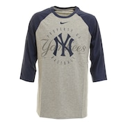 ニューヨークヤンキース ラグランTシャツ N414019NNKBQT メジャーリーグ
