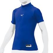 野球 アンダーシャツ 半袖 ジュニア バイオギア ハイネック インナー シャツ 12JA8C5116