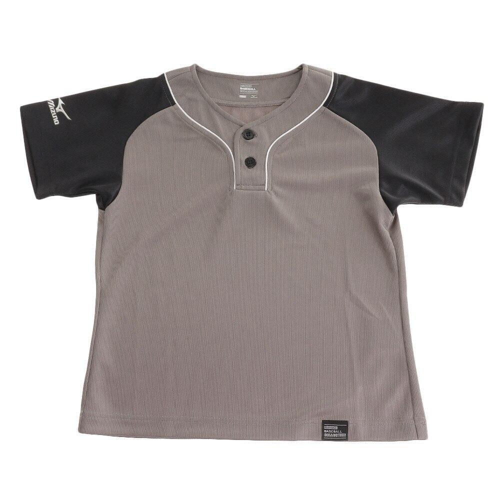 MIZUNO ジュニア ベースボールシャツ ハーフボタン 12JC7L3308 野球 スポーツ ウェア ジュニア 150 239 野球