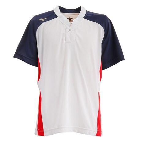 【ポイント15倍】【多少の傷汚れありの為大奉仕】ジュニア ベースボールシャツ 12JC8L8201 野球 ウェア ジュニア