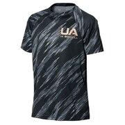 ボーイズ テック ノベルティ 半袖 ベースボールシャツ 1364512 BLK BB