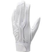 高校野球対応シングルバンド手袋 両手 EBG3002W