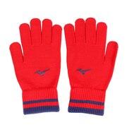 グローバルエリート ニット手袋 12JY8E5262 防寒 野球 冬用 グローブ