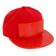 PIXEL SET キャップ RED BKBK-011