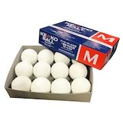 野球 軟式ボール 軟式野球 試合球 M号 1ダース KENKO-MD 自主練