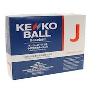 軟式用試合球 KENKO J号 1ダース KENKO-JD