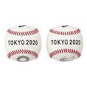 野球 やわらか記念ボール(東京2020オリンピックエンブレム) 3121A607.100 東京2020公式ライセンス商品