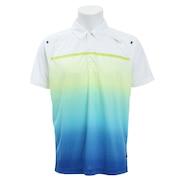 テニス ドライプラス CAゲームポロ PT19SM402 WHT
