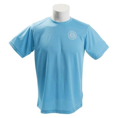 【傷汚れ可能性有りの為大奉仕】テニスウェア メンズ 吸汗速乾 Tシャツ PT18SM706 SAX