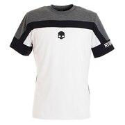 テニス ウェア メンズ Tシャツ 半袖 TECH T00125 WHITE