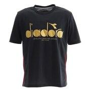 ロゴ半袖Tシャツ DTP9521-99 メンズ 半袖シャツ テニス バドミントン ウェア