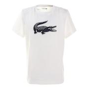 コットンブレンドウルトラドライロゴプリントTシャツ TH2042L-522