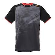 テニスウェア ドライプラス ゲーム半袖Tシャツ PT21FM452 BLK