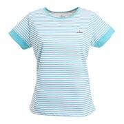 テニスウェア レディース 半袖ゲームシャツ WS1056 115 AQL