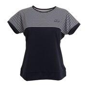 テニスウェア レディース 半袖ゲームシャツ WS1057 127 NVY