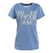 テニスウェア ドライプラス スループラス 半袖Tシャツ PT20FW661 LBLU