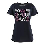 テニスウェア ドライプラス スループラス 半袖Tシャツ PT20FW661 NVY
