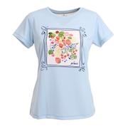 テニスウェア レディース 半袖Tシャツ WS1050 125 SAX