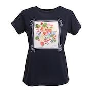 テニスウェア レディース 半袖Tシャツ WS1050 127 NVY