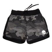 TECH CAMO ショーツ ショートパンツT01006 BLACK 【テニスウェア レディース 】