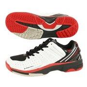 テニスシューズ オールコート メンズ エックスフィールプロ(X FEEL PRO) PC-ZK2870 AC RED シューレース付