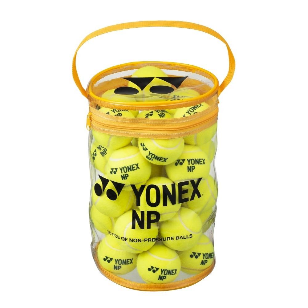 YONEX 硬式用テニスボール ノンプレッシャーボール 30個入り TB-NP30-004 FF 20 ボール