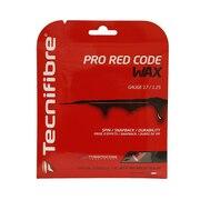 硬式テニスストリング PRO RED CODE WAX125 TFG521RD25
