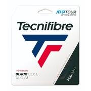 硬式テニスストリング ブラックコード1.28 TFG412BK28