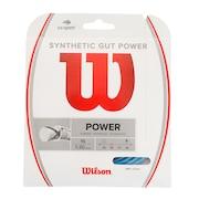硬式テニスストリング SYNTHETIC GUT POWER 16 BLU WR830130116
