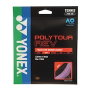 硬式テニスストリング 硬式テニスストリング ポリツアーレブ 130 PTGR130-039