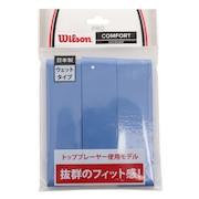 テニスグリップテープ PRO OVERGRIP 3本入り WRZ4020BL