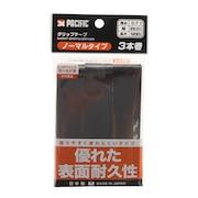 テニスグリップテープ ノーマルタイプ 3本入り PC-8326 BLK