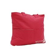 【多少の傷汚れありの為大奉仕】ワンベアー トートバッグ ピンク ONE BEAR TOTE PINK WR8002003001 テニス バッグ