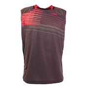 バドミントンウェア スリーブレスシャツ PT20SM407 BLK