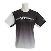バドミントン ウェア Tシャツ 半袖 KTS-04UN BLK