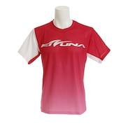 バドミントン ウェア Tシャツ 半袖 KTS-04UN RED