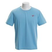バドミントン ウェア Tシャツ 半袖 KTS-02UN KTS-02UN SAX