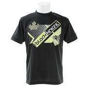 バドミントン ウェア Tシャツ 半袖 T-9120-BLA