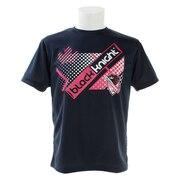 バドミントン ウェア Tシャツ 半袖 T-9120-NVY