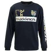 バドミントン ウェア Tシャツ 長袖 ロング T-9250-NVY