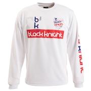 バドミントン ウェア Tシャツ 長袖 ロング T-9250-WHT