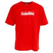 バドミントン ウェア Tシャツ 半袖 ドライ RED BOX STSDR RED