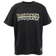 バドミントン ウェア Tシャツ 半袖 T-9180-BLA