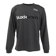 バドミントンウェア ロングTシャツ T-0230-GRY