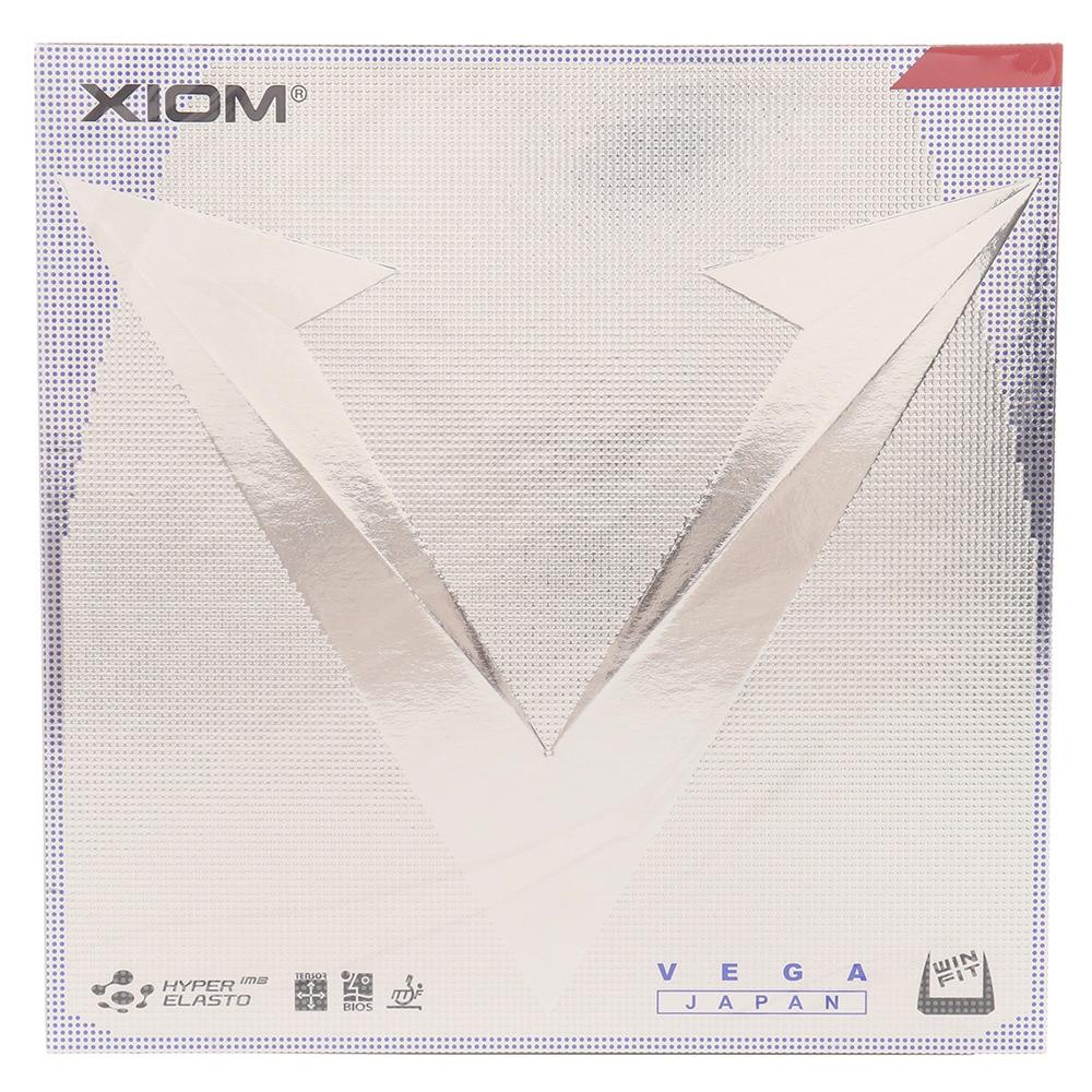 XIOM 卓球ラバー ヴェガ ジャパン 10471 RD M 70 卓球