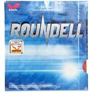 卓球ラバー ラウンデル 赤 裏ソフト 05860